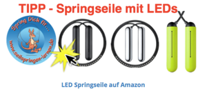 Tangram Factory Smart Rope Springseil mit LEDs