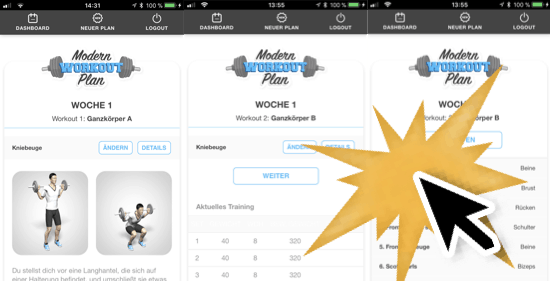 App-Modern-Workout-Plan
