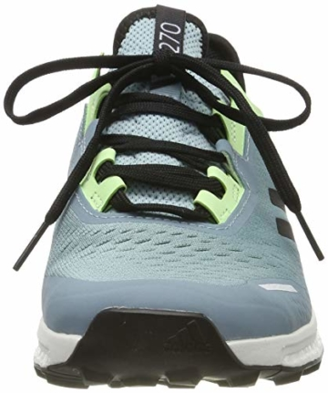 adidas Damen Terrex Agravic Flow W Cross-Trainer, Grau (Ash Grey S18/Core Black/Glow Green Ash Grey S18/Core Black/Glow Green), 37 1/3 EU - 2