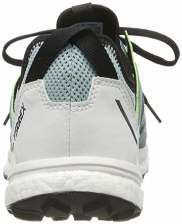 adidas Damen Terrex Agravic Flow W Cross-Trainer, Grau (Ash Grey S18/Core Black/Glow Green Ash Grey S18/Core Black/Glow Green), 37 1/3 EU - 3