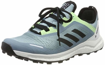 adidas Damen Terrex Agravic Flow W Cross-Trainer, Grau (Ash Grey S18/Core Black/Glow Green Ash Grey S18/Core Black/Glow Green), 37 1/3 EU - 1