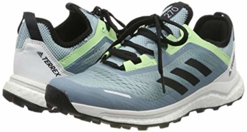adidas Damen Terrex Agravic Flow W Cross-Trainer, Grau (Ash Grey S18/Core Black/Glow Green Ash Grey S18/Core Black/Glow Green), 37 1/3 EU - 5