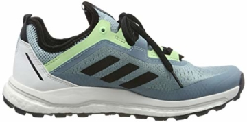 adidas Damen Terrex Agravic Flow W Cross-Trainer, Grau (Ash Grey S18/Core Black/Glow Green Ash Grey S18/Core Black/Glow Green), 37 1/3 EU - 6