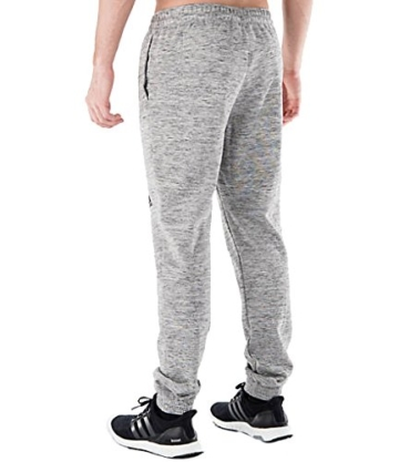adidas Herren Pique Hose, Herren, Medium Grey Heather, XXL - 2