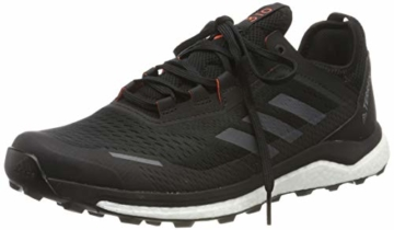 adidas Herren Terrex Agravic Flow Cross-Trainer, Schwarz (Core Black/Grey Six/Solar Orange Core Black/Grey Six/Solar Orange), 45 1/3 EU - 1