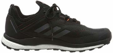 adidas Herren Terrex Agravic Flow Cross-Trainer, Schwarz (Core Black/Grey Six/Solar Orange Core Black/Grey Six/Solar Orange), 45 1/3 EU - 6