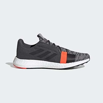 adidas Performance Senseboost Go Laufschuh Herren dunkelgrau/orange, 9.5 UK - 44 EU - 11 US - 1