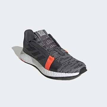 adidas Performance Senseboost Go Laufschuh Herren dunkelgrau/orange, 9.5 UK - 44 EU - 11 US - 4