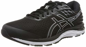 ASICS Herren Gel-cumulus 21 Running Shoe, Black/White, 43.5 EU - 1