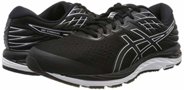 ASICS Herren Gel-cumulus 21 Running Shoe, Black/White, 43.5 EU - 5