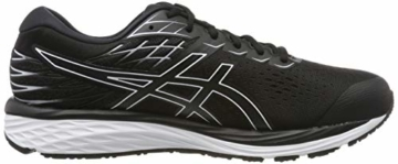 ASICS Herren Gel-cumulus 21 Running Shoe, Black/White, 43.5 EU - 6
