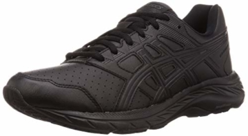 ASICS Mens Gel-Contend 5 SL Walking Shoe, Black/Graphite Grey, 43.5 EU - 1