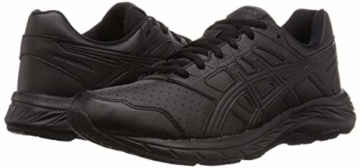 ASICS Mens Gel-Contend 5 SL Walking Shoe, Black/Graphite Grey, 43.5 EU - 5