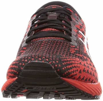 ASICS Mens Gel-DS Trainer 25 Running Shoe, Fiery Red/White - 2