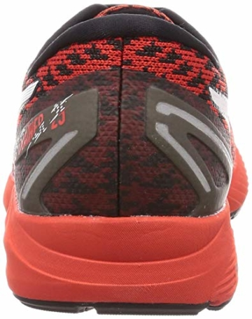 ASICS Mens Gel-DS Trainer 25 Running Shoe, Fiery Red/White - 3