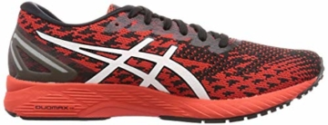 ASICS Mens Gel-DS Trainer 25 Running Shoe, Fiery Red/White - 6
