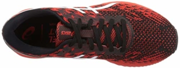 ASICS Mens Gel-DS Trainer 25 Running Shoe, Fiery Red/White - 7