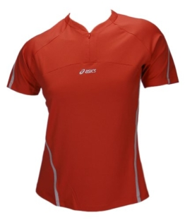 ASICS Proxima Running Fitness Walking Sportshirt Damen 0618 Art. 682625 orange Größe S - 1