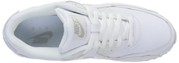 Nike Air Max 90 Leather Herren Sneakers, weiß (white/white), 43 EU - 13