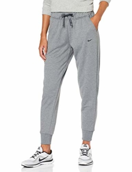 Nike Damen Dri-FIT Hose, Carbon Heather/Black, M - 1