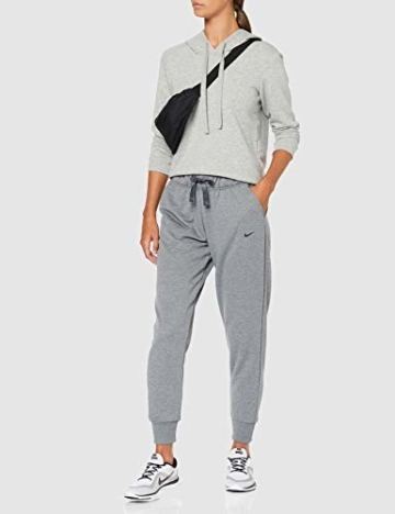 Nike Damen Dri-FIT Hose, Carbon Heather/Black, M - 2