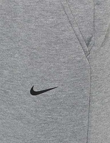 Nike Damen Dri-FIT Hose, Carbon Heather/Black, M - 3