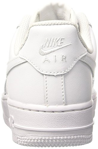 Nike Damen WMNS AIR Force 1 '07 Sneaker, Weiß (White/White), 40.5 EU - 3