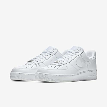 Nike Damen WMNS AIR Force 1 '07 Sneaker, Weiß (White/White), 40.5 EU - 5