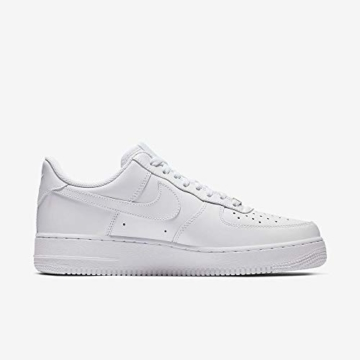 Nike Damen WMNS AIR Force 1 '07 Sneaker, Weiß (White/White), 40.5 EU - 7