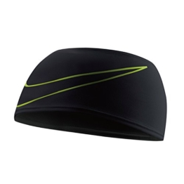 Nike Dri-Fit Swoosh Running Headband black/volt - 1