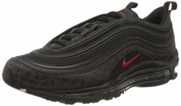 Nike Herren Air Max 97 Sneakers, Mehrfarbig (Black/University Red/Black 001), 45 EU - 1