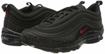 Nike Herren Air Max 97 Sneakers, Mehrfarbig (Black/University Red/Black 001), 45 EU - 5