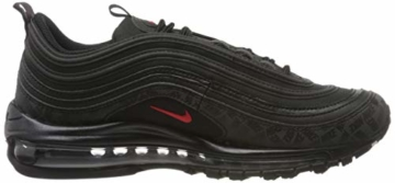 Nike Herren Air Max 97 Sneakers, Mehrfarbig (Black/University Red/Black 001), 45 EU - 6