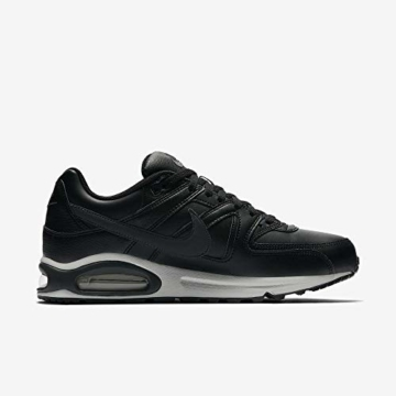 Nike Herren Air Max Command Leather Turnschuhe, Schwarz (Black/Anthracite/Neutral Grey 001), 43 EU - 6