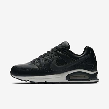 Nike Herren Air Max Command Leather Turnschuhe, Schwarz (Black/Anthracite/Neutral Grey 001), 43 EU - 8