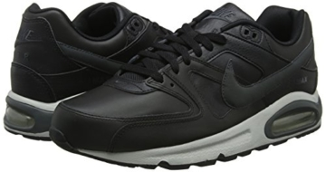 Nike Herren Air Max Command Leather Turnschuhe, Schwarz (Black/Anthracite/Neutral Grey 001), 43 EU - 10