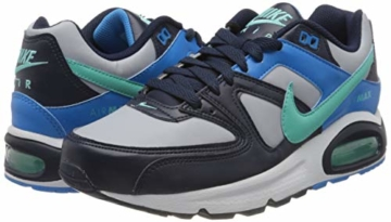 Nike Herren Air Max Command Traillaufschuhe, Mehrfarbig (Wolf Grey/Aurora Green-Blackened Blue 050), 40.5 EU - 5