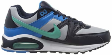 Nike Herren Air Max Command Traillaufschuhe, Mehrfarbig (Wolf Grey/Aurora Green-Blackened Blue 050), 40.5 EU - 6