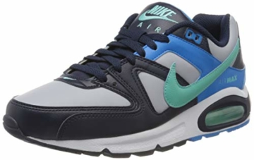 Nike Herren Air Max Command Traillaufschuhe, Mehrfarbig (Wolf Grey/Aurora Green-Blackened Blue 050), 40.5 EU - 1