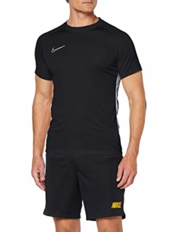 Nike Herren Dri-Fit Academy T-Shirt, Black White, XL - 1