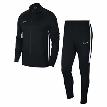 Nike Herren Dri-Fit Academy Trainingsanzug, Black White, M - 1
