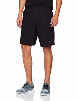 Nike Herren M NK DRI-FIT Cotton Shorts, Black/Black/Anthracite, L - 1