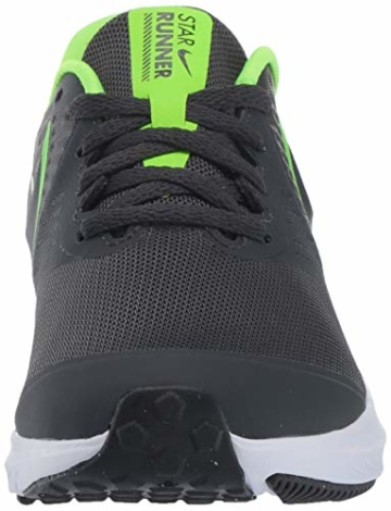 Nike Unisex-Kinder Star Runner 2 (GS) Sneaker, Grau (Anthracite/Electric Green-White 004), 39 EU - 2