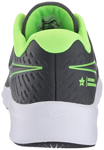 Nike Unisex-Kinder Star Runner 2 (GS) Sneaker, Grau (Anthracite/Electric Green-White 004), 39 EU - 3