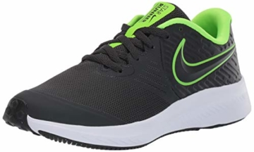 Nike Unisex-Kinder Star Runner 2 (GS) Sneaker, Grau (Anthracite/Electric Green-White 004), 39 EU - 1