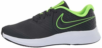 Nike Unisex-Kinder Star Runner 2 (GS) Sneaker, Grau (Anthracite/Electric Green-White 004), 39 EU - 5