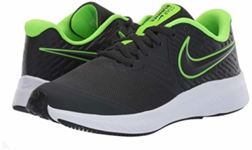 Nike Unisex-Kinder Star Runner 2 (GS) Sneaker, Grau (Anthracite/Electric Green-White 004), 39 EU - 6