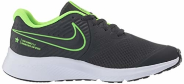 Nike Unisex-Kinder Star Runner 2 (GS) Sneaker, Grau (Anthracite/Electric Green-White 004), 39 EU - 7