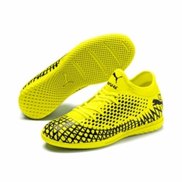 Puma FUTURE 4.4 IT Jr, Unisex-Kinder Fußballschuhe, Gelb (Yellow Alert-Puma Black 03), 30 EU (11.5 UK) - 1