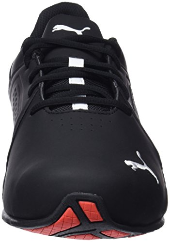 Puma Herren Viz Runner Cross-Trainer, Schwarz (Puma Black-Puma White/02), 43 EU - 2